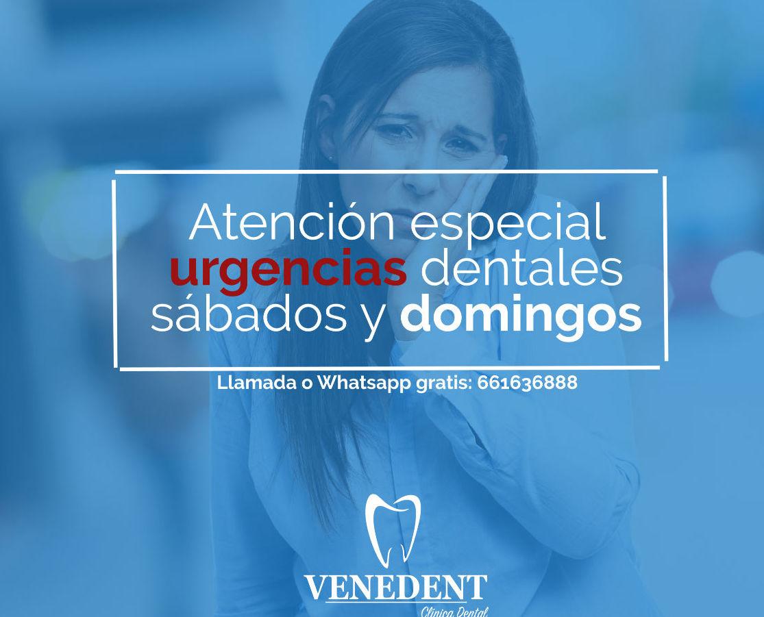 Urgencias dentales en León domingos