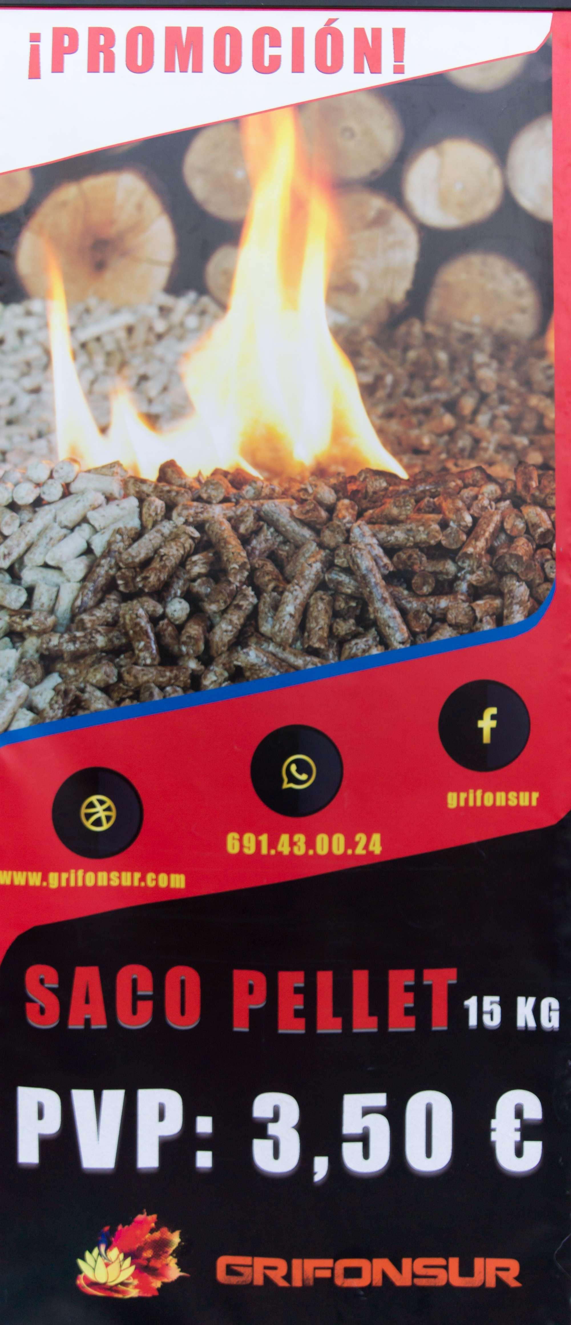 Gran promoción de pellets para tu estufa
