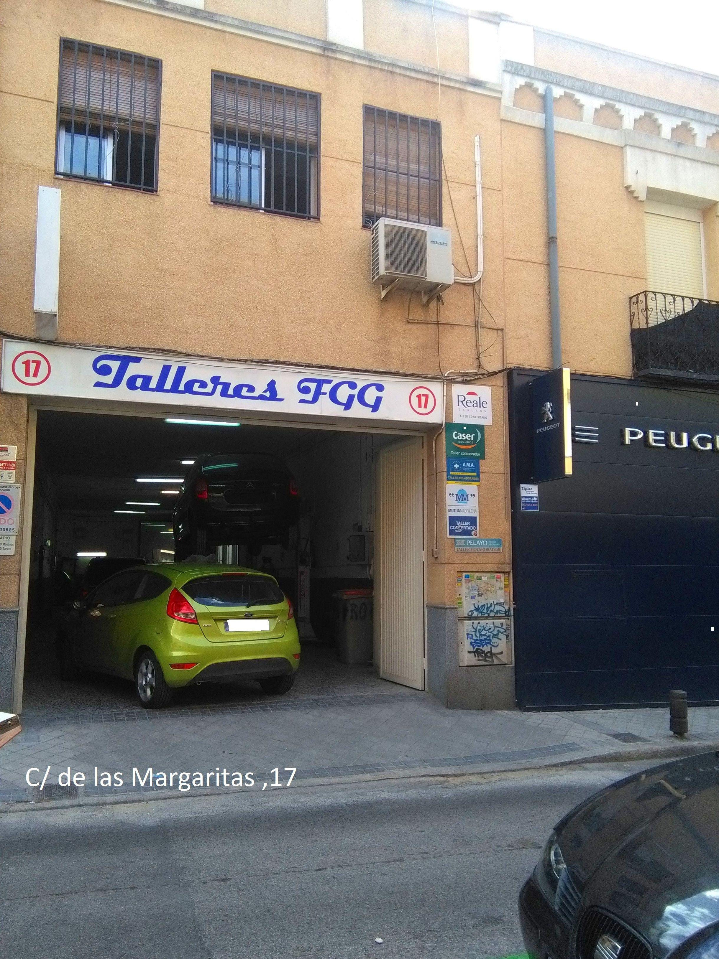 Foto 3 de Especialistas en mecánica rápida en Madrid | Talleres FGG