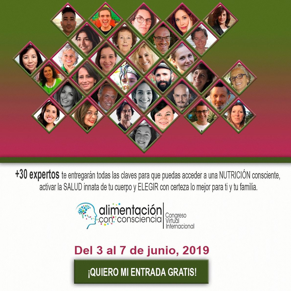 Congreso Virtual Internacional de Alimentación con Conciencia
