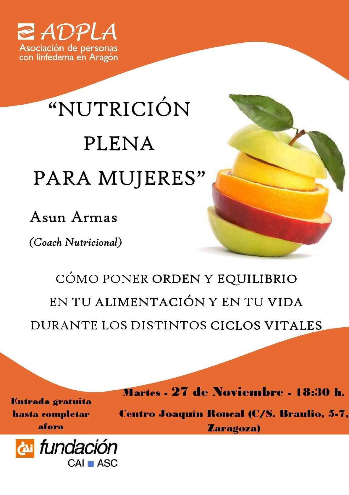 Nutrición Plena para mujeres Zaragoza