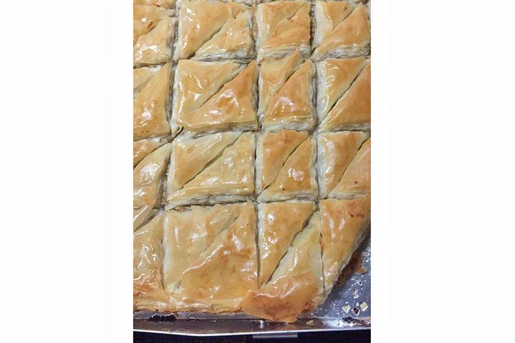 La Baklava, dulce típico libanés