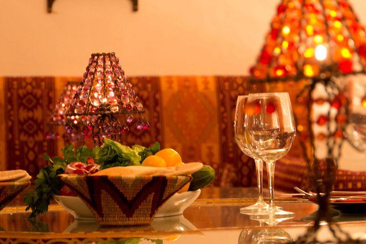 Disfruta de la comida libanesa