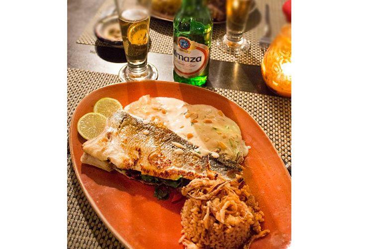 Samaka Trabulsieh es un delicioso pescado relleno
