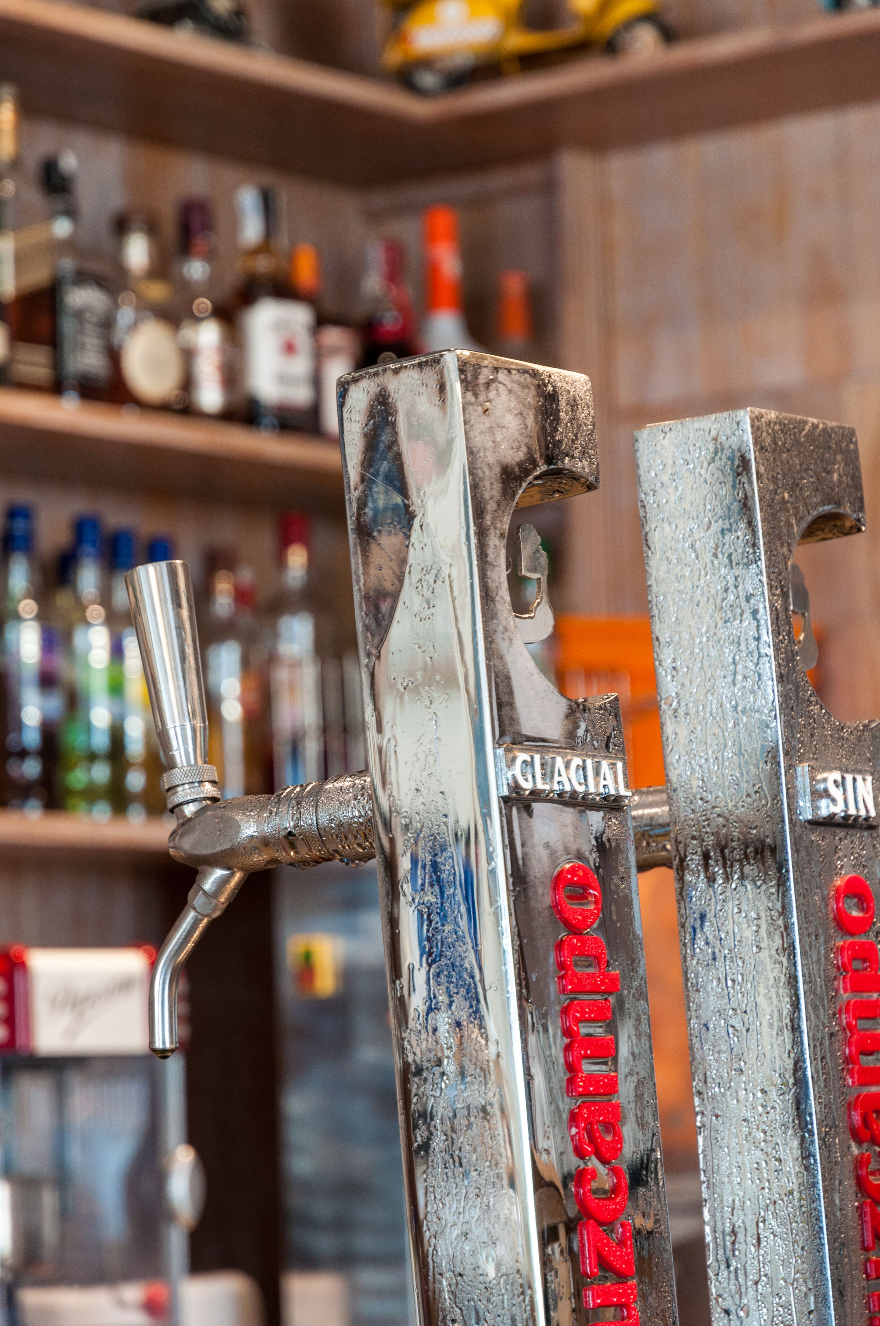 Bar de copas en Sevilla