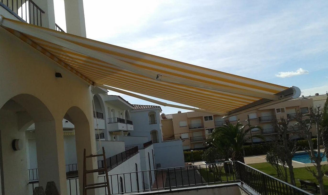 Instalación de toldos en Girona