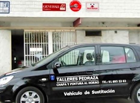 Taller del automóvil con vehículo de sustitución en Valdemoro