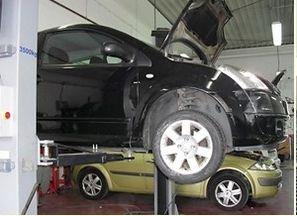 Taller de electromecánica del automóvil en Valdemoro