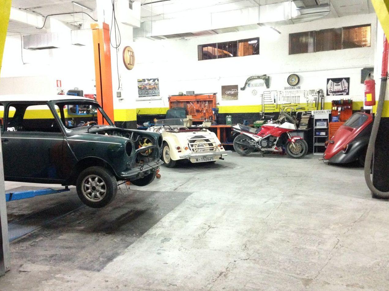 Reparación y mantenimiento de coches clásicos en Alcobendas