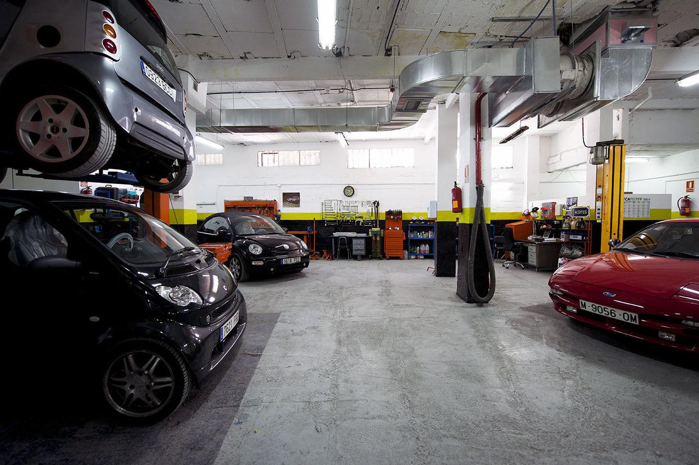 Mecánica y mantenimiento del automóvil en Alcobendas