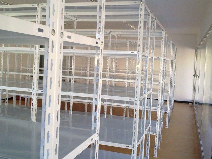 Estanterías de ángulo ranurado blancas: Productos de Estanmur