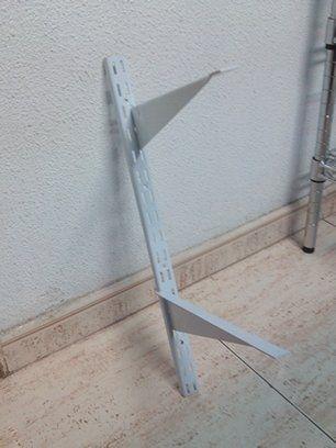 Cremalleras de 15x25x15 con cartelas para madera o cristal: Productos de Estanmur