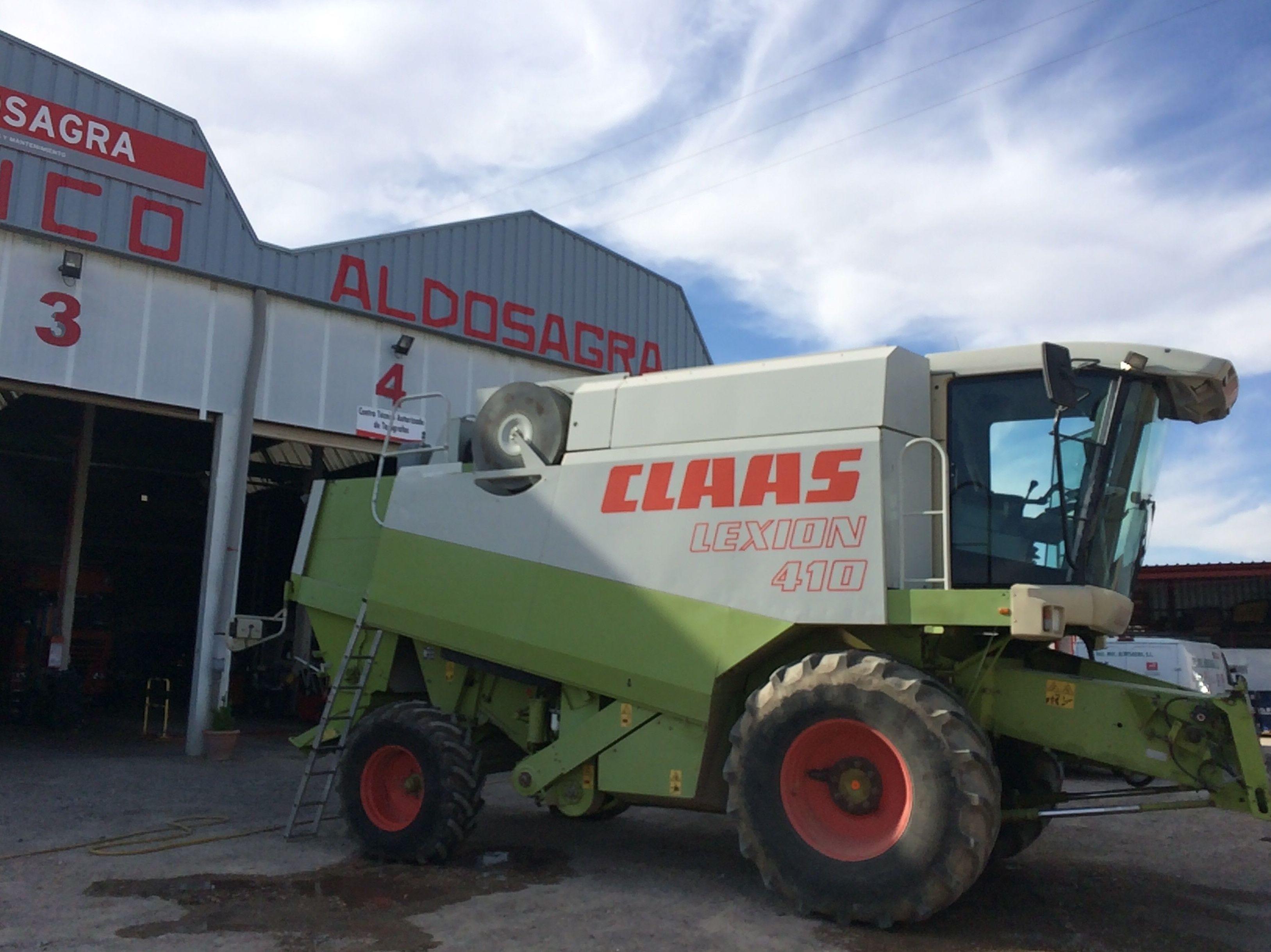 Taller de vehículos agrícolas y M.O.P: Servicios de Talleres Aldosagra