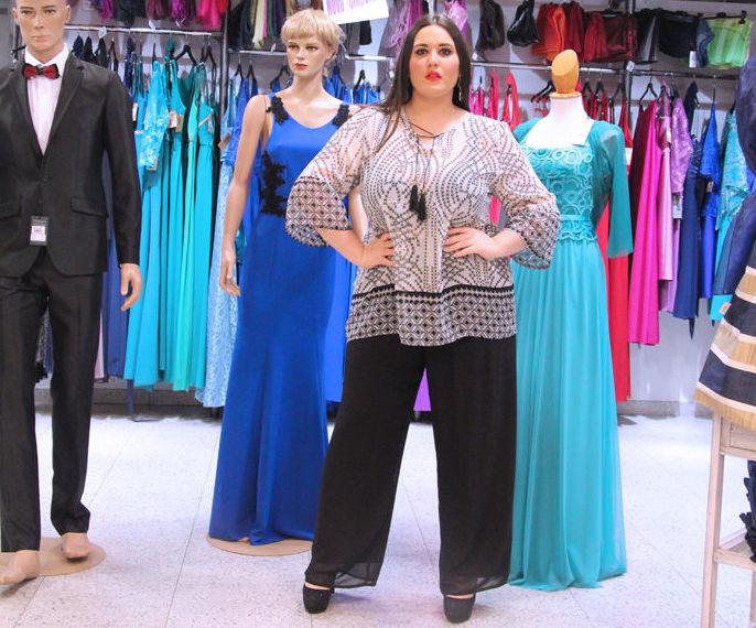 Mujer casual tallas grandes : Ropa Mujer-Hombre de Seisu