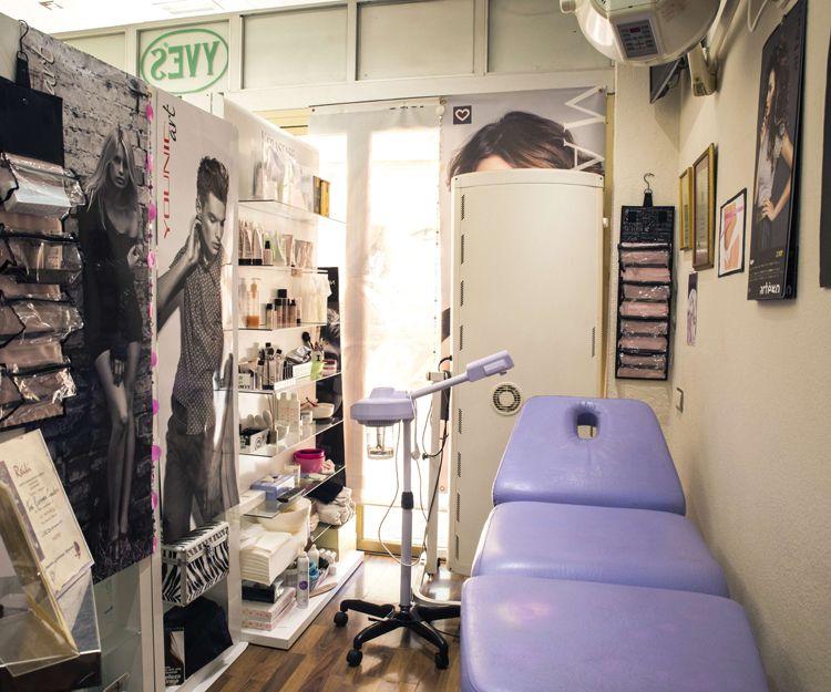 Sala de tratamientos de belleza