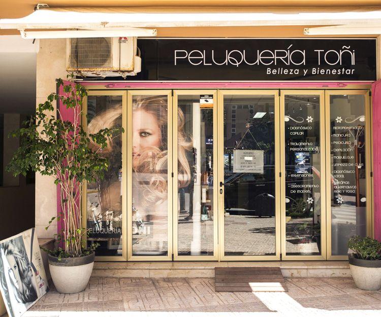 Belleza y bienestar  en peluquería Toñi