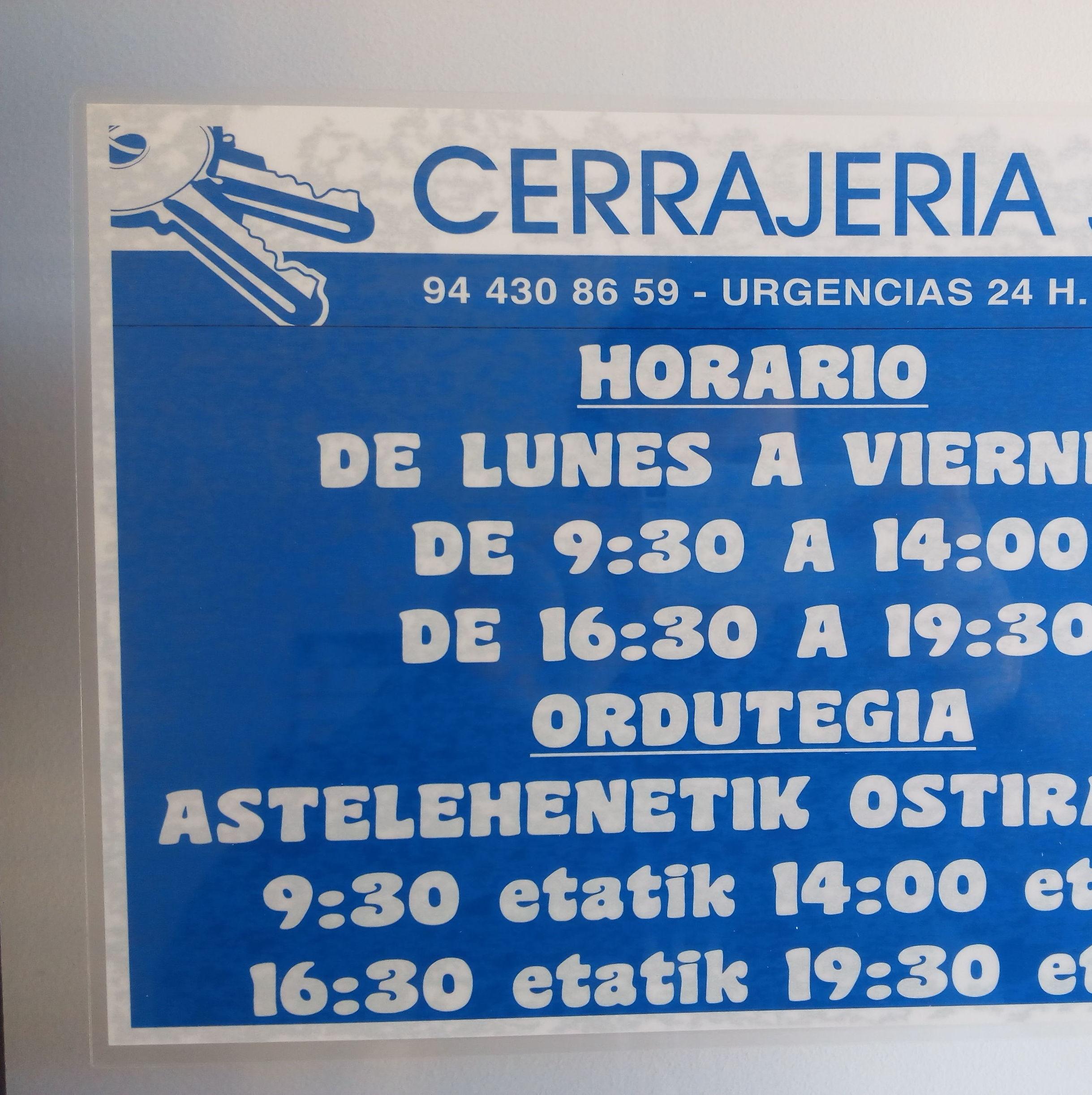 Foto 1 de Ferreterías en Getxo | Cerrajería Josu