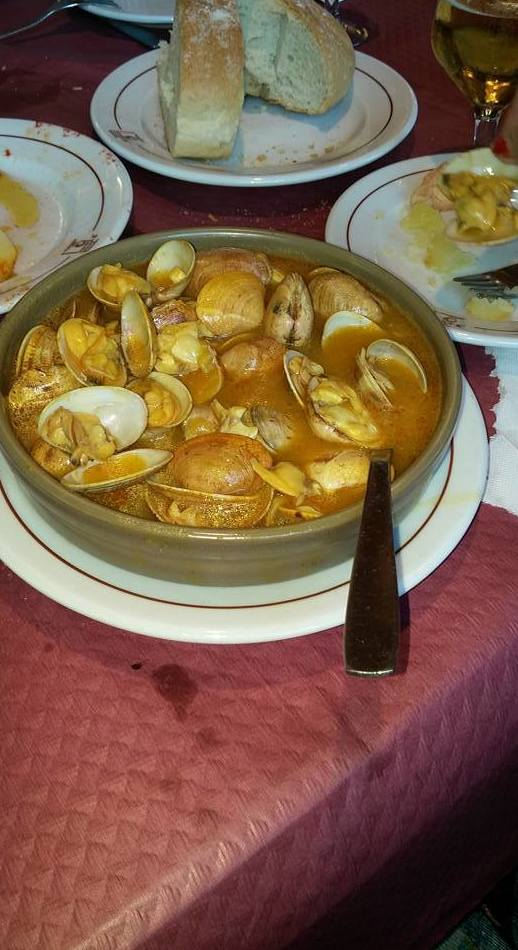Platos típicos gallegos en Alcorcón