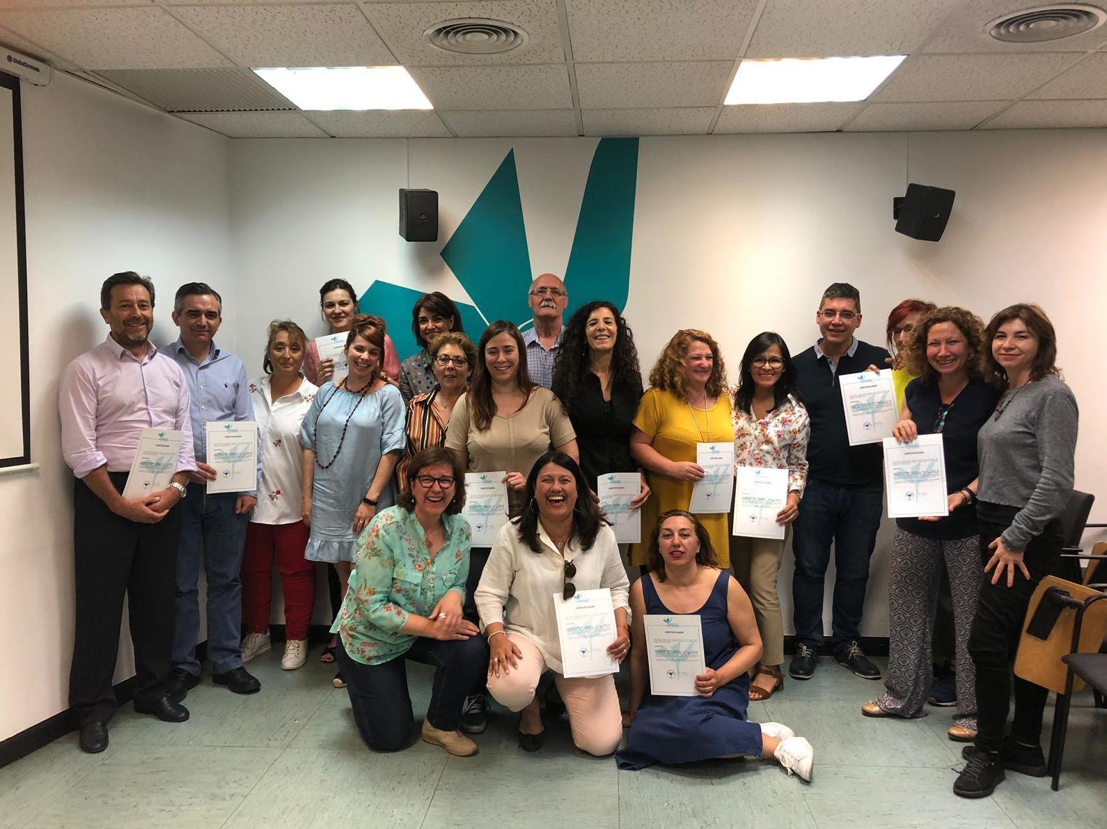 Primera promoción de COORDINADORES PARENTALES del Colegio Oficial de Psicólogos.
