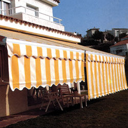 Toldo extensible sombrex (volante regulable)
