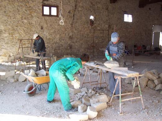 Proceso de construcción de bodega