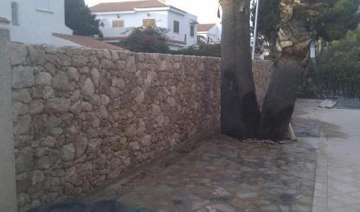 Mamposteria, piedra del campo de Cartagena