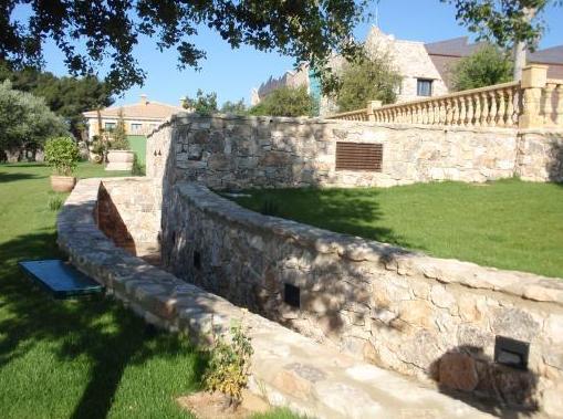 Muros en piedra de Villena