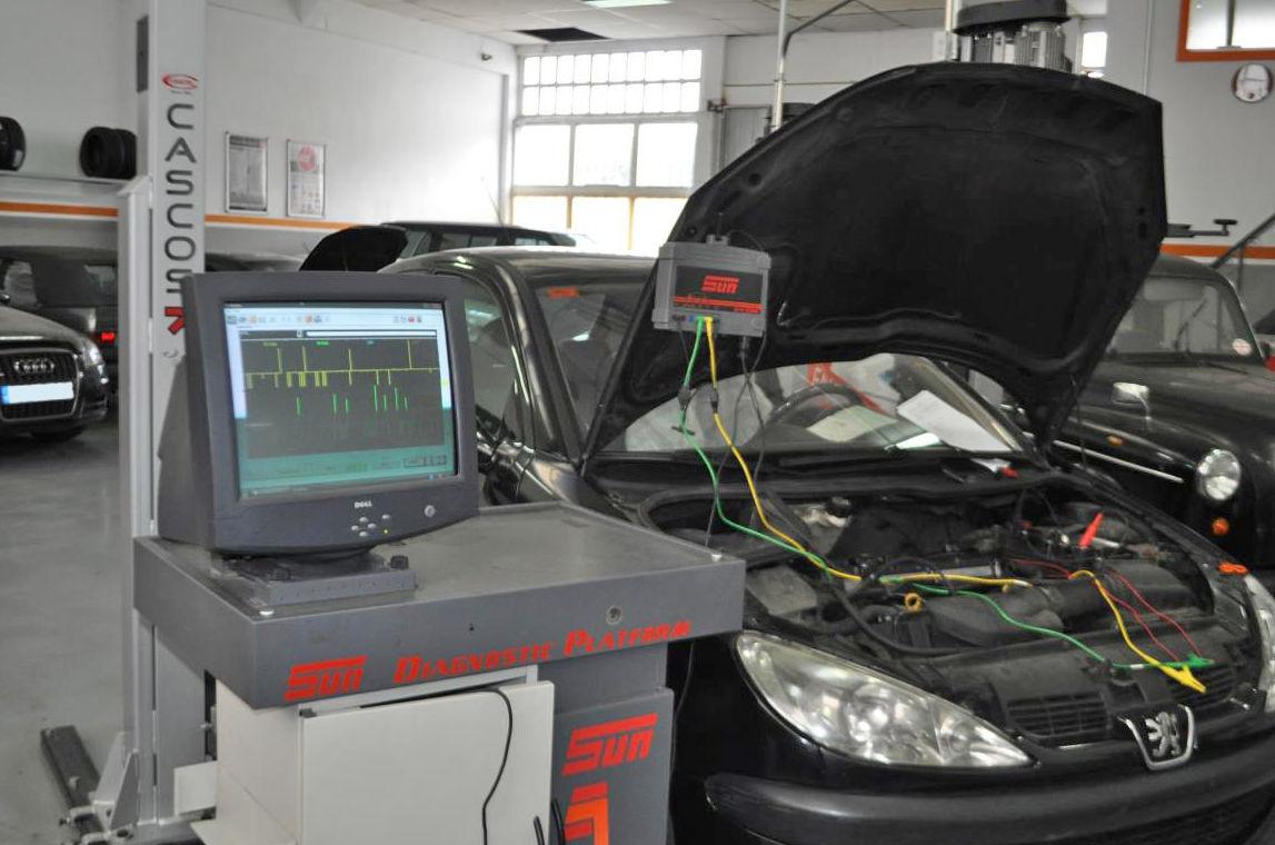 Diagnosis electrónica de sistemas: Servicios de Soñeiro Automoción