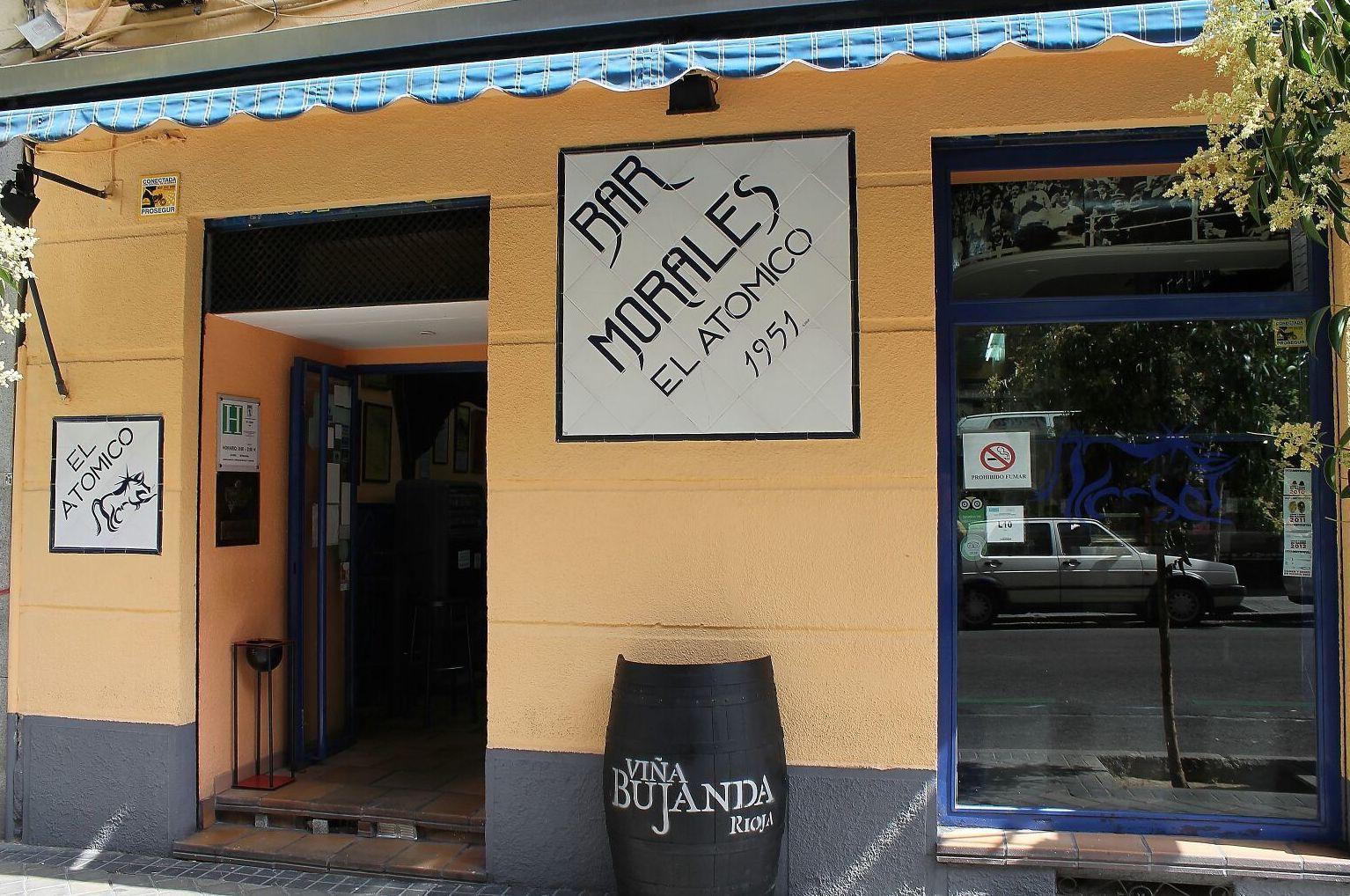 Bar Morales El Atómico, Argüelles, Madrid