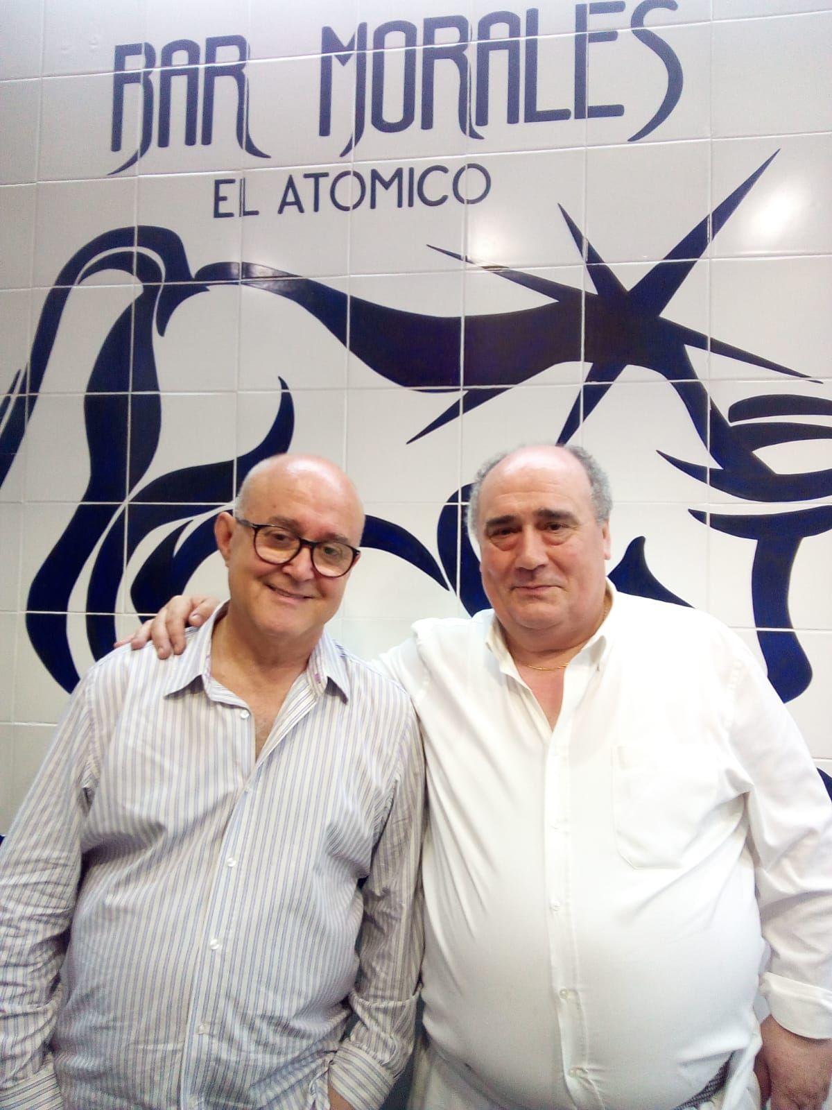 El jefe con el cocinero de kabuki Ricardo Sanz