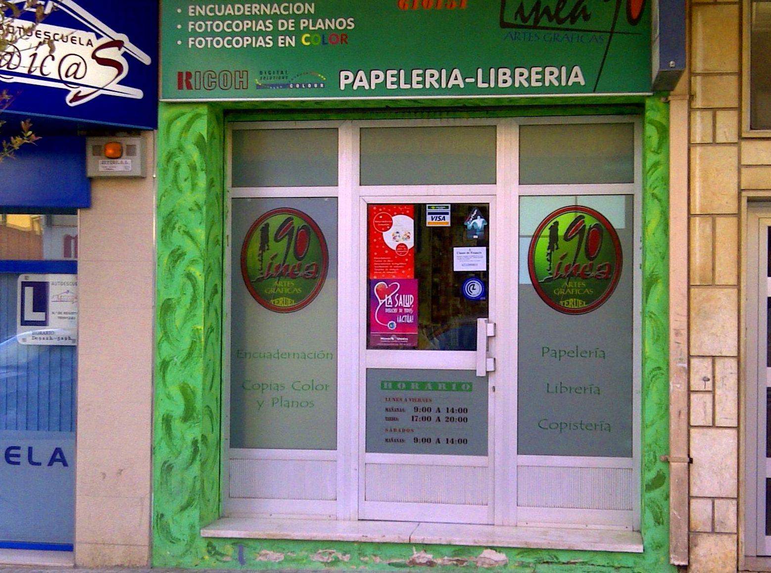Foto 5 de Papelerías en Teruel | Línea 90, C.B.