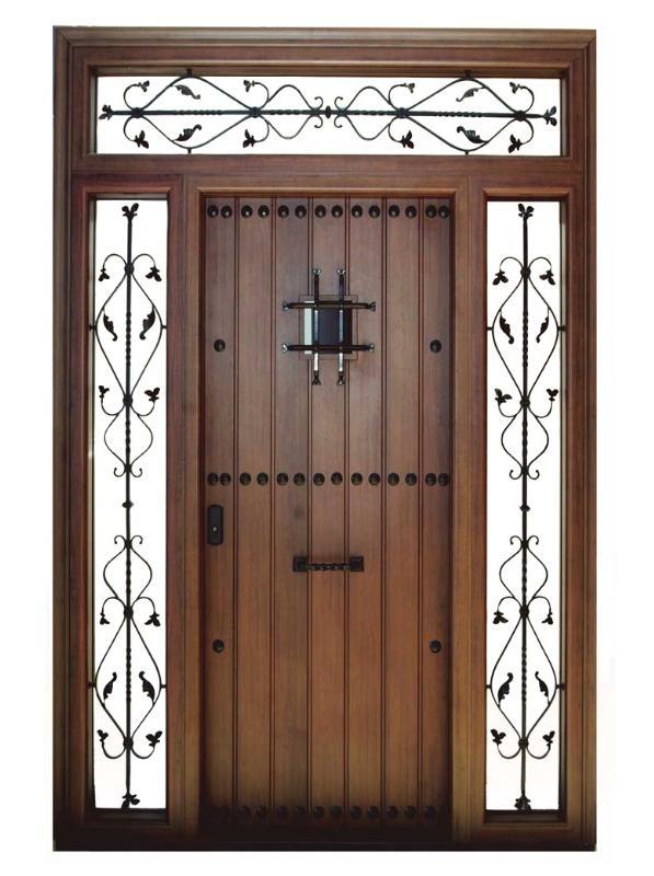 Puertas de aluminio.