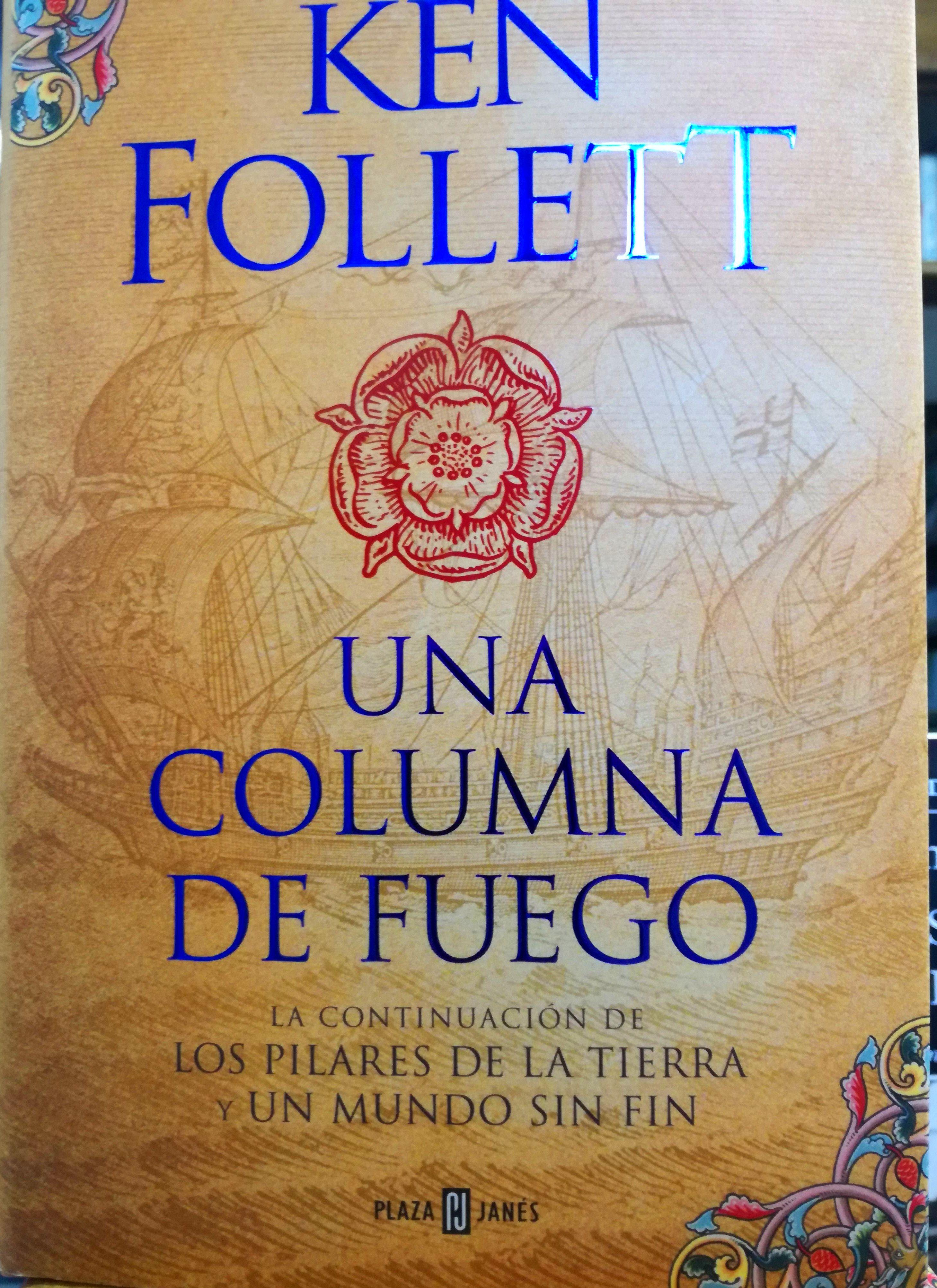 UNA COLUMNA DE FUEGO: SECCIONES de Librería Nueva Plaza Universitaria