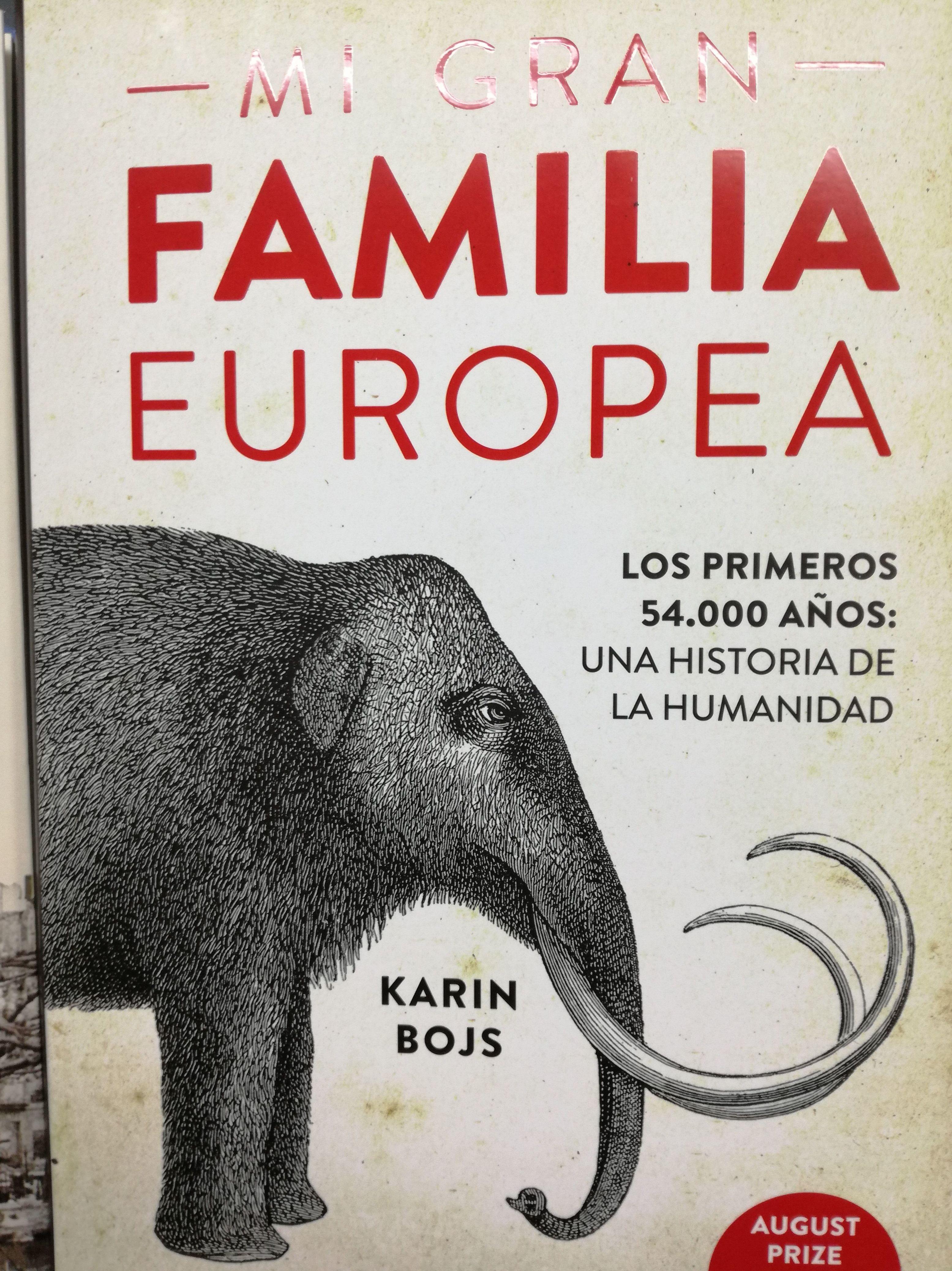 MI GRAN FAMILIA EUROPEA : SECCIONES de Librería Nueva Plaza Universitaria