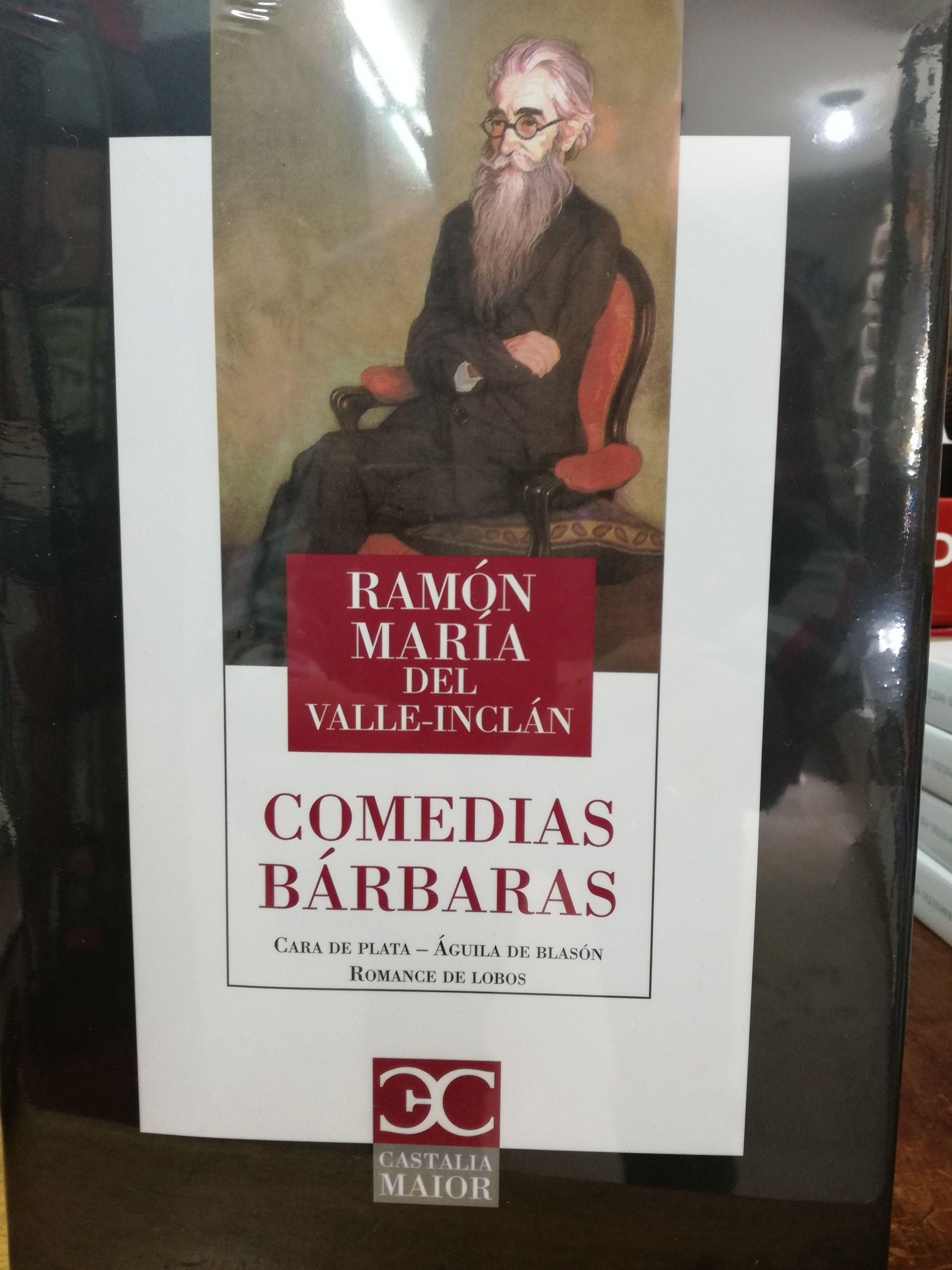 Comedias Barbaras: SECCIONES de Librería Nueva Plaza Universitaria