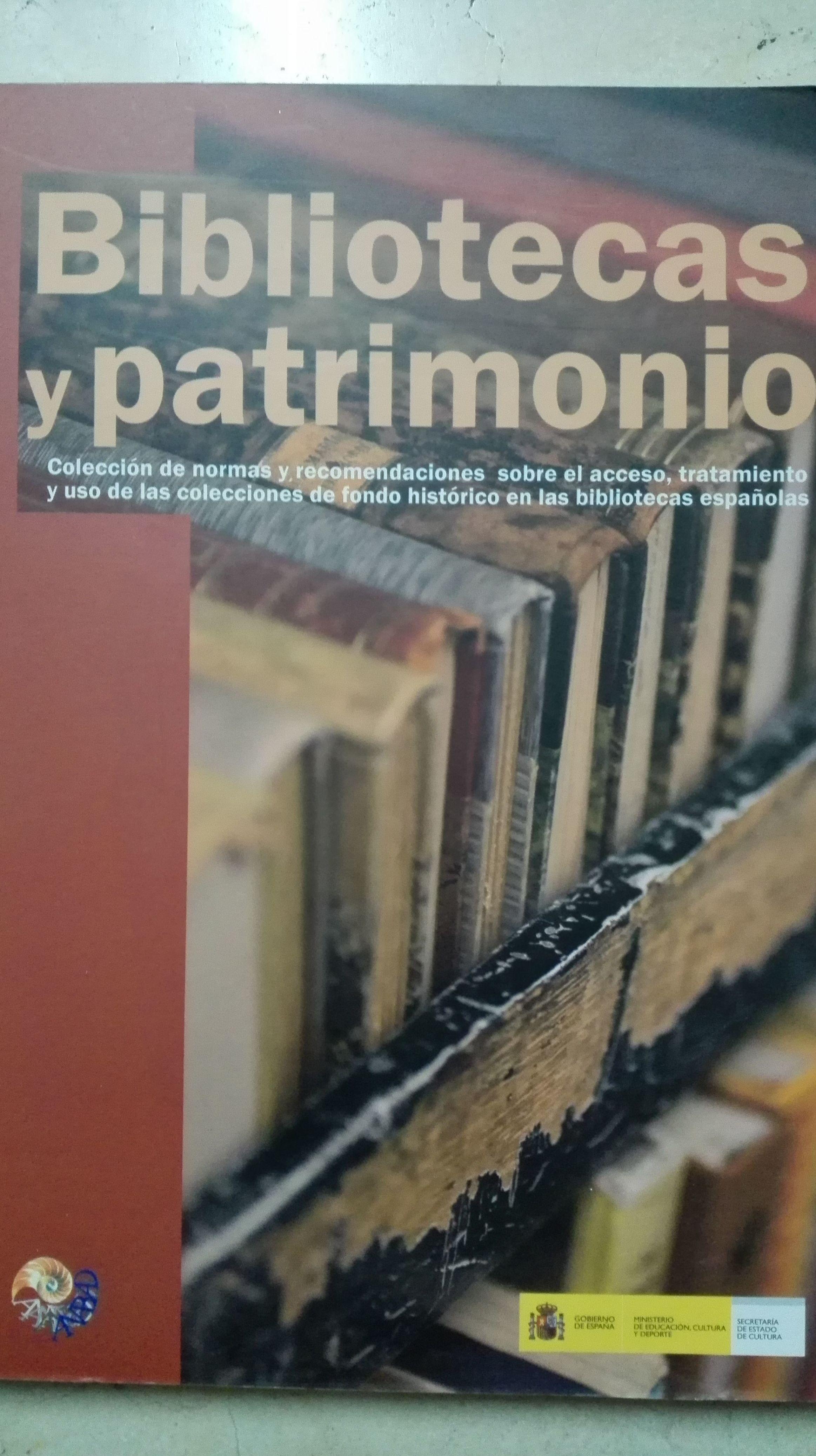 Bibliotecas y patrimonio
