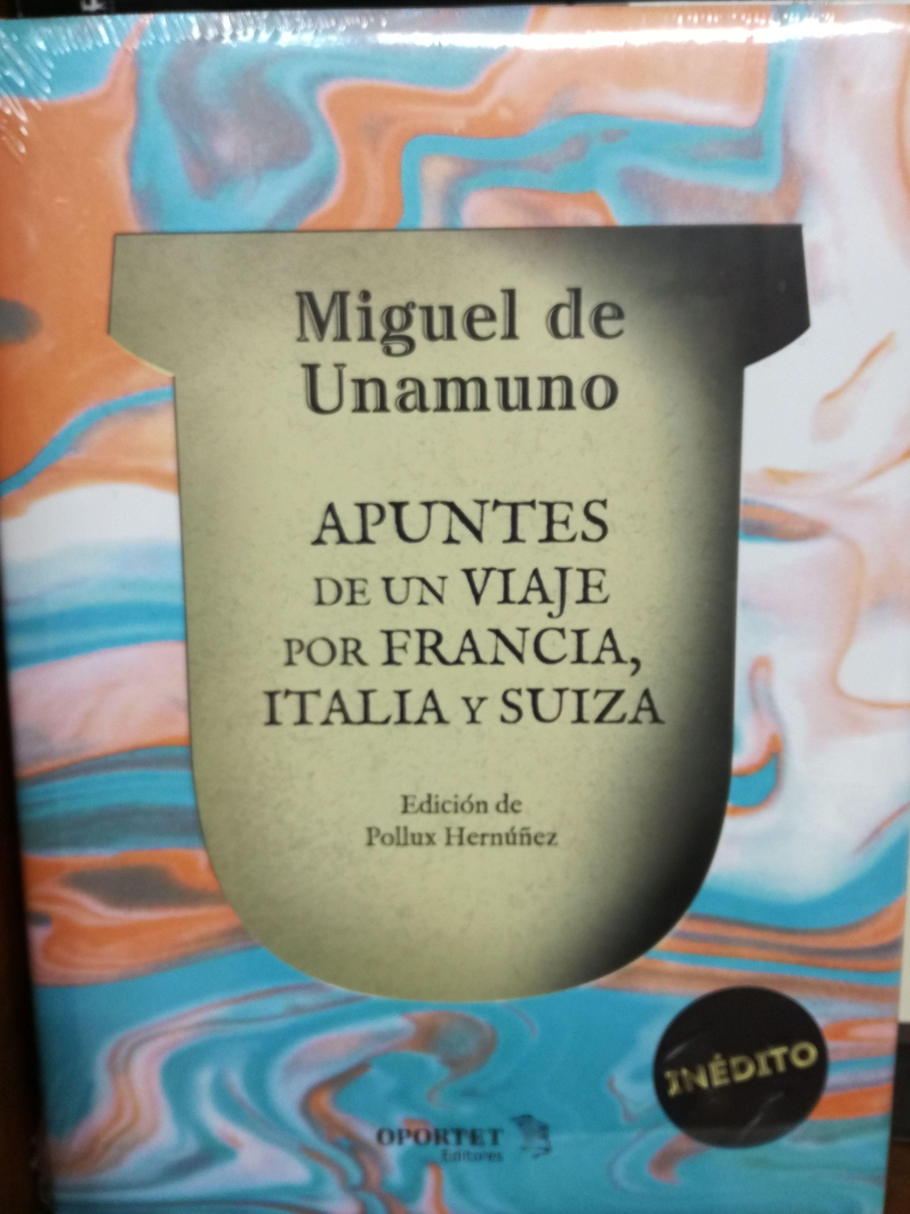 Apuntes de un viaje por Francia, Italia y Suiza: SECCIONES de Librería Nueva Plaza Universitaria