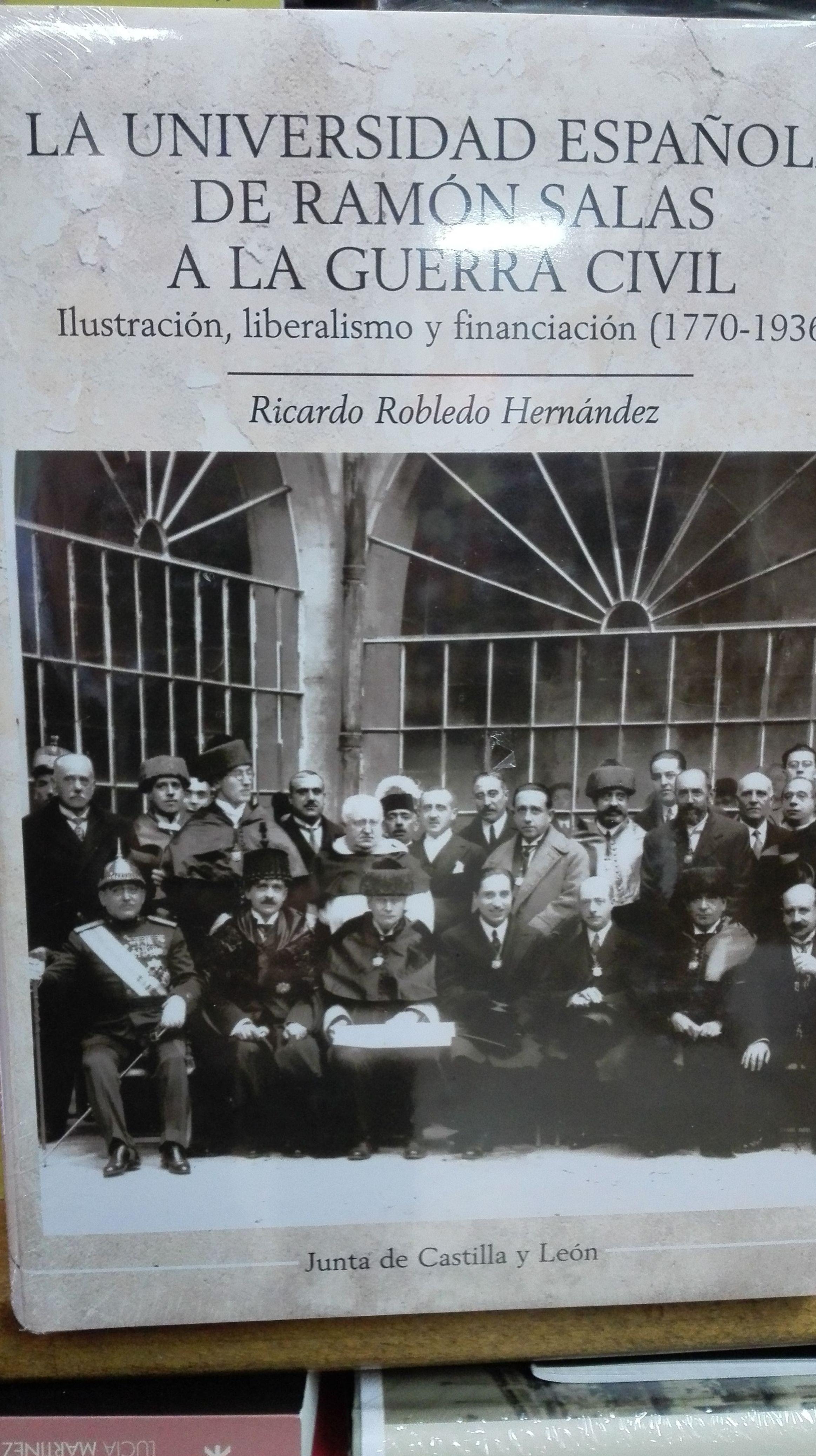 La Universidad Esapñola de Ramon Salas a la Guerra Civil