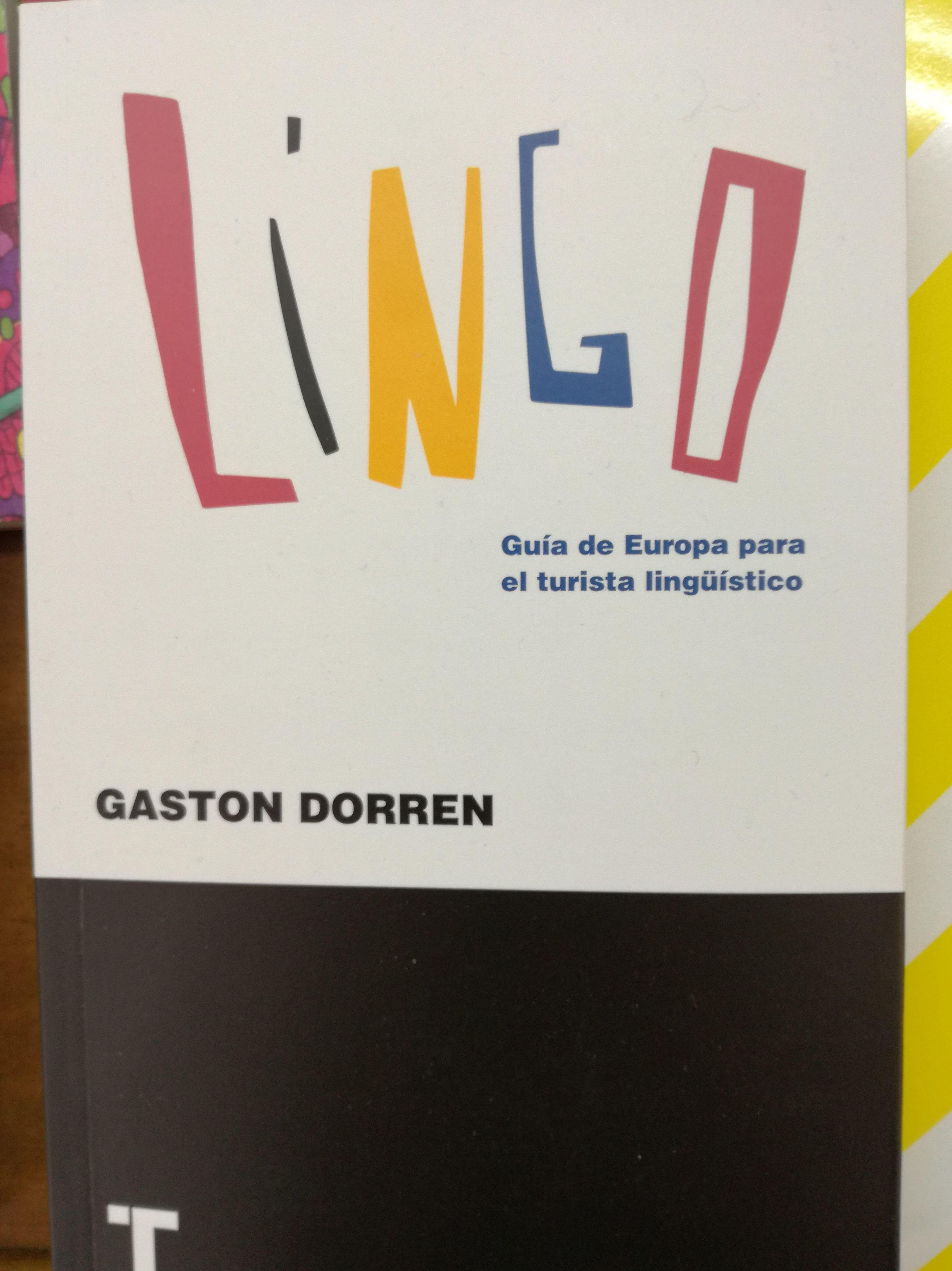 Lingo Guía de Europa para el turista lingüístico: SECCIONES de Librería Nueva Plaza Universitaria