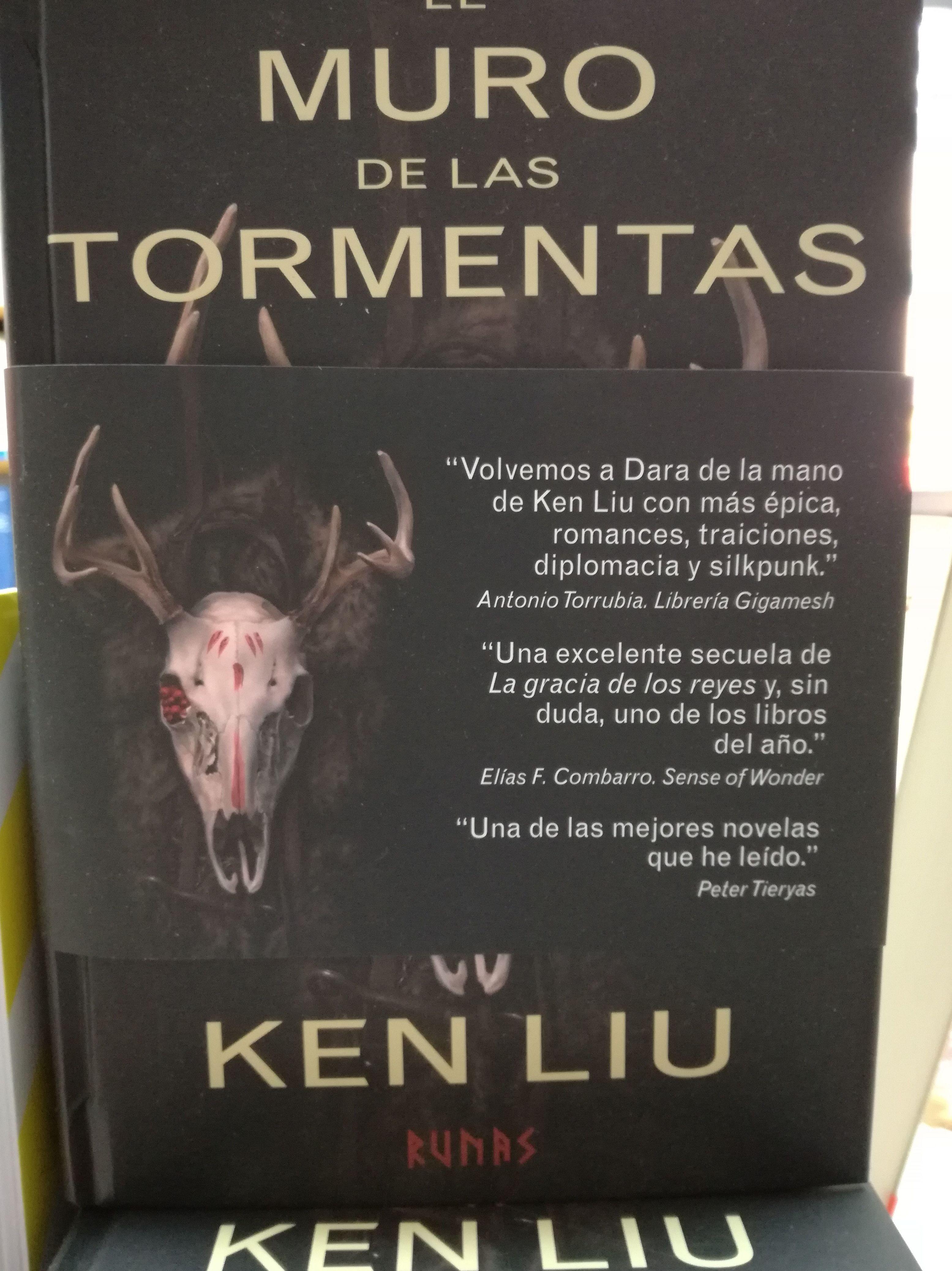 EL MURO DE LAS TORMENTAS : SECCIONES de Librería Nueva Plaza Universitaria