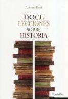Doce lecciones sobre historia: SECCIONES de Librería Nueva Plaza Universitaria