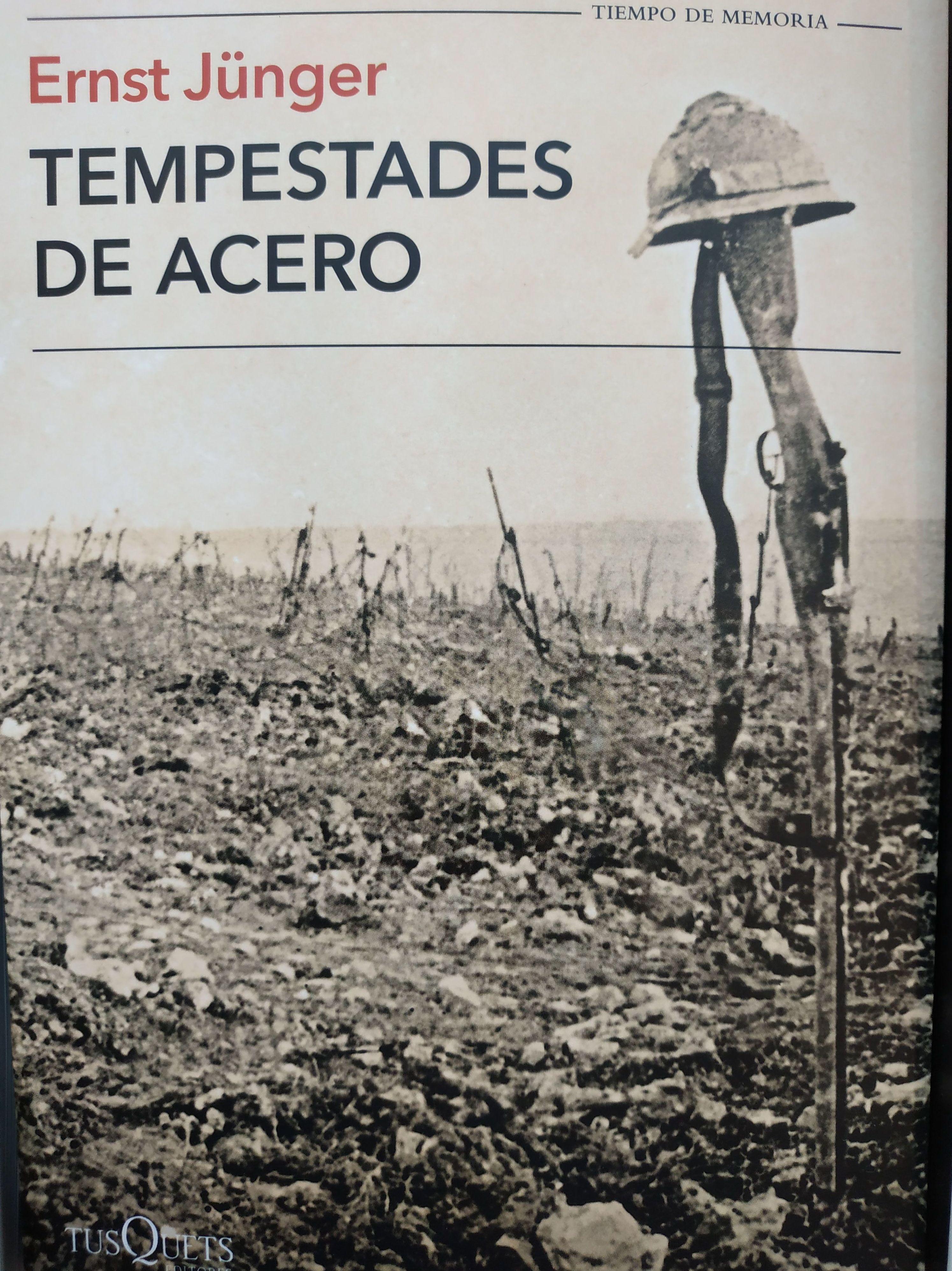 TEMPESTADES DE ACERO: SECCIONES de Librería Nueva Plaza Universitaria