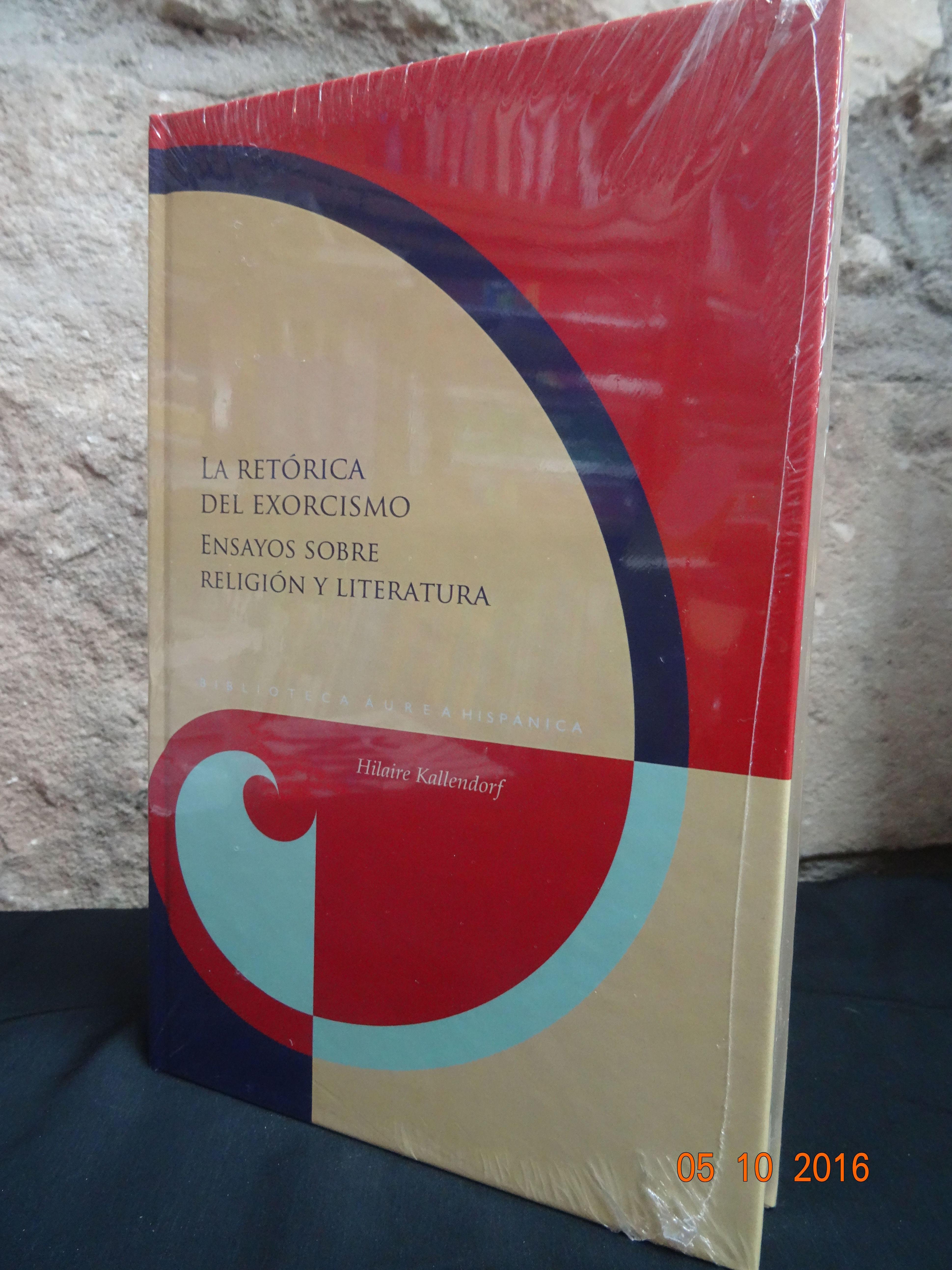 La retórica del exorcismo. Ensayos sobre Religióny Literatura: SECCIONES de Librería Nueva Plaza Universitaria