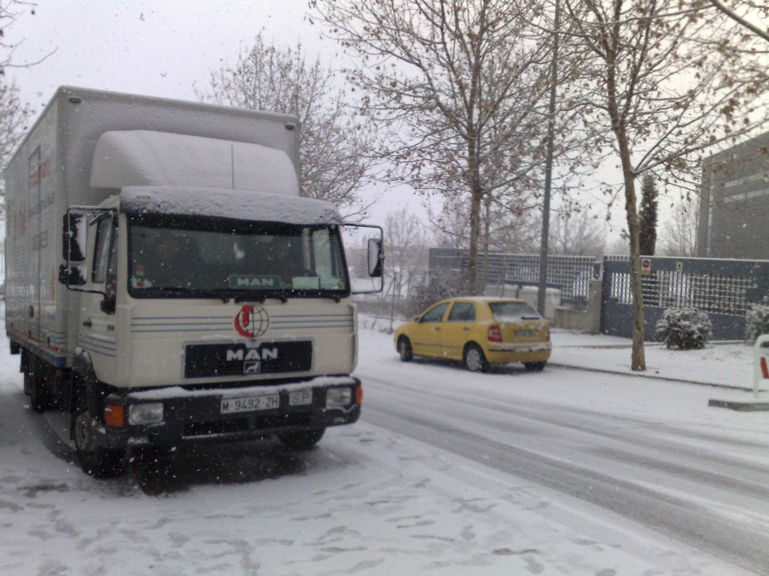 camión mudanzas en madrid