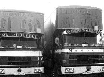 camiones antiguos mudanzas el cid