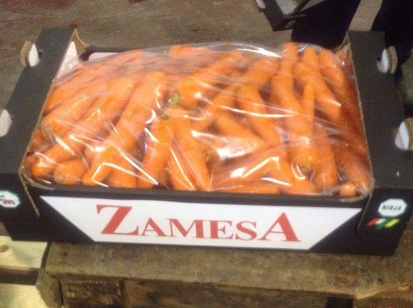Bolsa En Caja: Formato Venta de Zanahorias Medrano