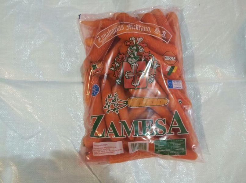 Bolsa: Formato Venta of Zanahorias Medrano