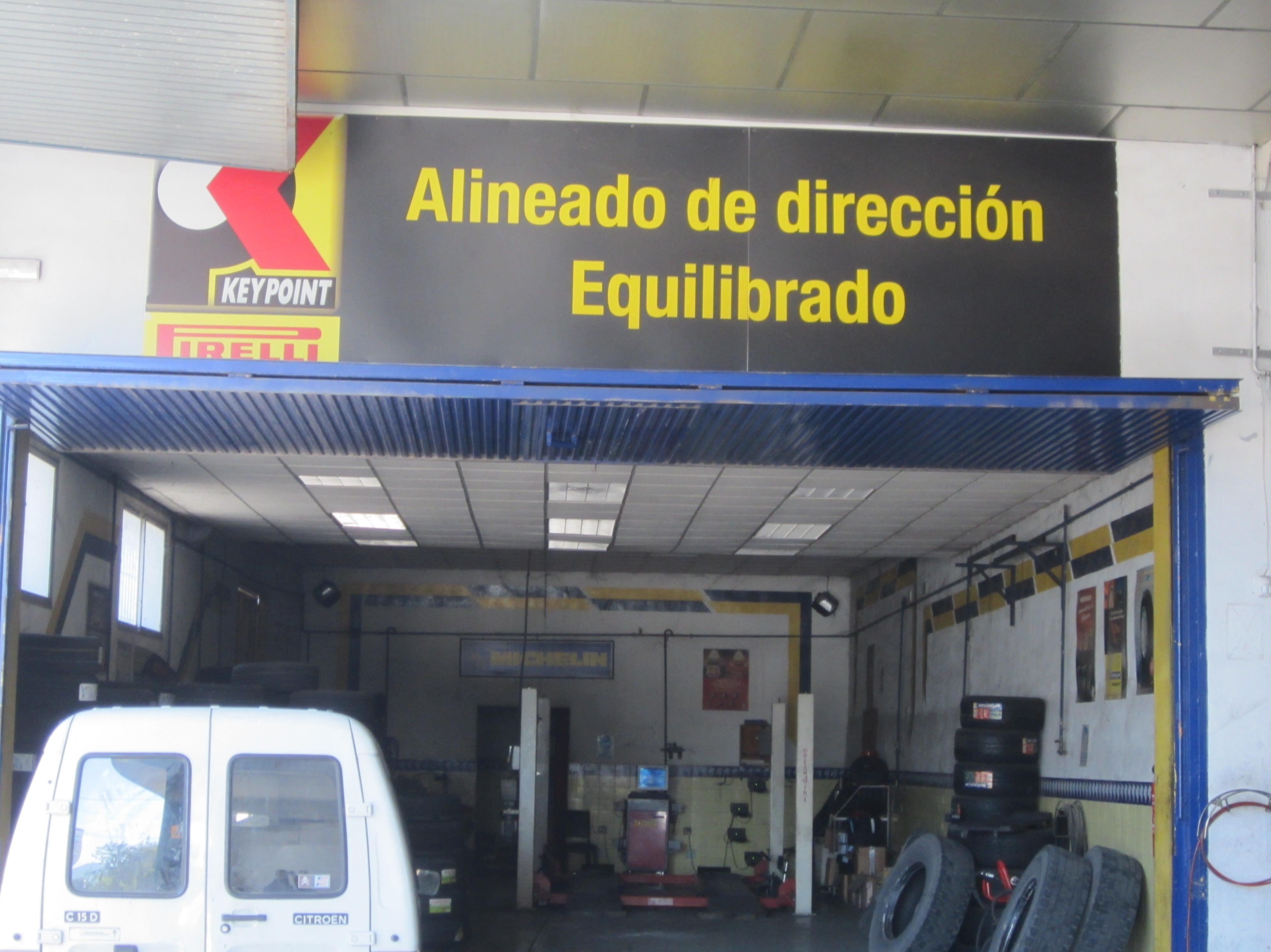 Alineado de direccion por ordenador Big Sur Neumaticos Murcia