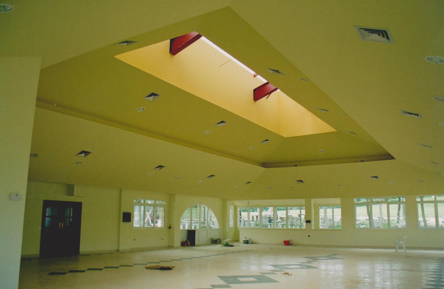 Falso techo de pladur Restaurante