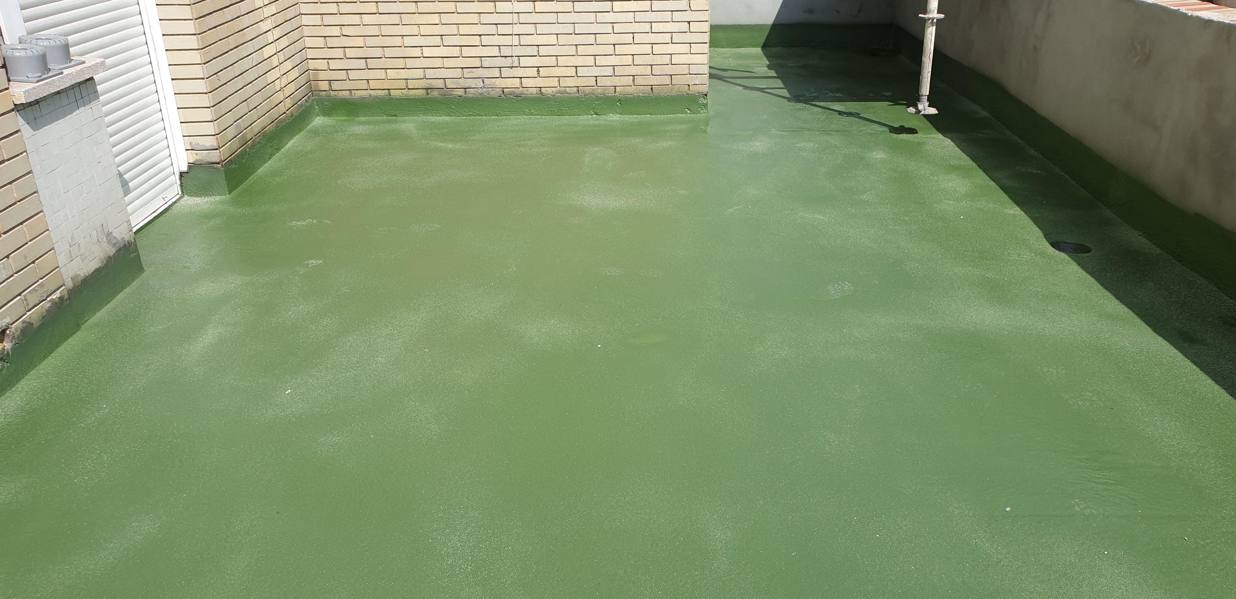 Impermeabilización de terraza con poliurea
